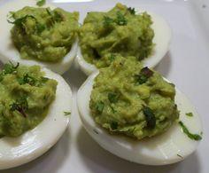 Breakfast - Deviled Avocado Eggs