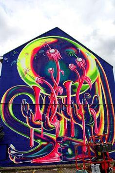 Street Art: Merksem/Antwerp Ghmeling