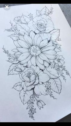 Sexy Tattoos, Forearm Tattoos, Rose Tattoos, Body Art Tattoos, Tattoo Drawings, Girl Tattoos, Sleeve Tattoos, Tattoo Sketches, Tattoo Hip