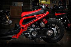 Custom Honda Ruckus Hard Parts | MNNTHBX - MNNTHBX