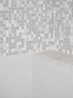 Captivating Bathroom Remodel in Stylish Design: Amazing Modern Mosaic Glass Tile Backsplash Menlo Park Remodel Bathroom Remodeling, Remodeling Ideas, Tile Floor, Bathtub, Flooring, Amazing, Design, Washroom, Trendy Tree