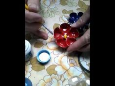Como fazer flor de garrafa pet com (williane Lima) - YouTube