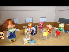 いらっしゃいませ! コンビニごっことアンパンマンおもちゃ / Convenience Store Toy with Talking Cash Register! - YouTube