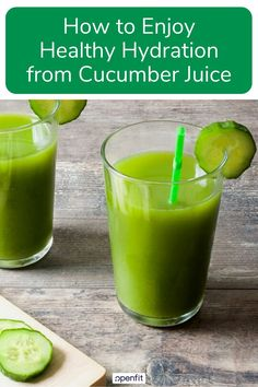 Is cucumber juice the new celery juice? Cucumber juice is cool refreshing and downright delicious. Lets look at the supposed benefits of cucumber juice. Spicy Recipes, Easy Healthy Recipes, Healthy Drinks, Vegetarian Recipes, Cucumber Health Benefits, Low Calorie Drinks, Calorie Diet, Hydrating Drinks, Clean Eating For Beginners