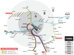 RTD Rail Map: RTD's rail system consists of 5 rail lines: the C, D, E, F, and W…