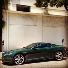 How can you not love a green Aston Martin? Though i think i should be more of an olive green. What do you think?