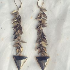 Falling leaf pyrite drop earrings.  Repurposed vintage perfection. ✨ #whenyouwysh #repurposedjewelry #vintage #oneofakind #handmade #yyc #yycfashion #pyrite #earrings #jewelry Bridal Accessories, Autumn Leaves, Repurposed, Handmade Jewelry, Drop Earrings, Instagram Posts, Vintage, Beautiful, Collection