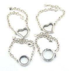 Floating Charm Locket Bracelet, Origami Owl Lockets, Living Lockets, Memory Locket