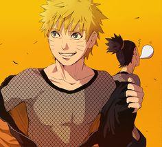 Naruto and Shikamaru Sasunaru, Naruto And Shikamaru, Naruto Shippuden Sasuke, Narusasu, Gaara, Kakashi, Anime Naruto, Boruto, Shikatema