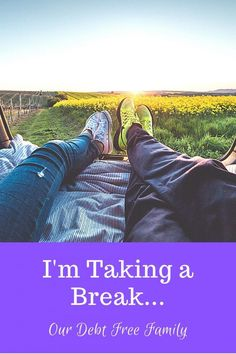 Sometimes I feel like all we do is watch our money and stay at home, especially since COVID took over. Here's how I'm taking a break... #mentalhealth #selfcare #takingcareofyourself #takingabreak