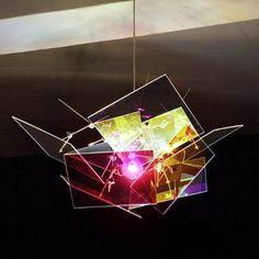 Plexiglas Lampe