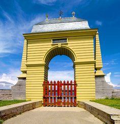 Main Gate of the Fortress of Louisbourg, Nova Scotia, Canada Cap Breton, Acadie, Parks Canada, Nova Scotia, East Coast, Big Ben, Places Ive Been, Coal Miners, Main Gate