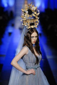 Coco Rocha at Jean Paul Gaultier Spring 2007 Haute Couture