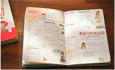 Love the layout of this! Cute idea for a DIY planner/ArtJournal!