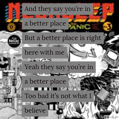 Wish You Were Here by Neck Deep. Music Lyrics, Neck Deep Lyrics, I Miss Your Face, Pop Punk Bands, Lock Screens, A Day To Remember, Wish You Are Here, Bugs Bunny, Islands