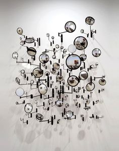Dimensional wall displays, but also if these were magnifying glasses and there was a small object....