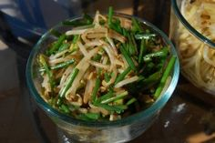 Stir-Fried Bean Sprouts with Scallions and Bean Sauce