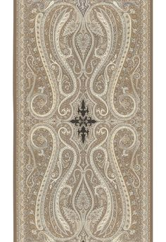 Pasha Paisley in Stone, 5006602. http://www.fschumacher.com/search/ProductDetail.aspx?sku=5006602  #Schumacher
