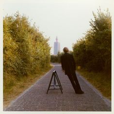 """Broken fall (Geometric), Westkapelle Holland"" (1971) by Bas Jan Ader"