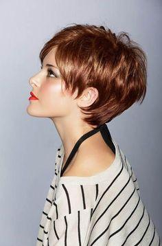 2014 Bayan Kısa Saç Modeli