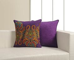 ShalinIndia Printed Cushion Cover Set With 2 Throw Pillow Covers Cotton Poplin Fabric 18 Inch ** For more information, visit image link. (This is an affiliate link) Throw Pillow Covers, Throw Pillows, Christmas Pillow Covers, Printed Cushions, Poplin Fabric, Image Link, Bed, Prints, Cotton