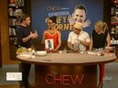 the chew father's day tie card