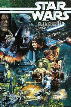Star Wars Artwork & Movie Posters #scififantasy #starwars #movieposters #movietwit #tvseries #artwork #Tvposters
