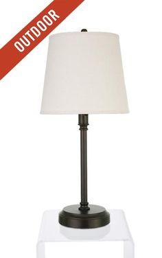 Capri Outdoor Cordless Lamps, modern lantern, cordless lighting ...