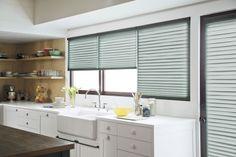 #PleatedShade #WindowTreatment #Kitchen