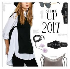 """2017"" by mycherryblossom ❤ liked on Polyvore featuring Behance, Forever 21 and vintage"