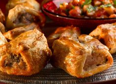 Try this delicious recipe for spicy sausage plaits - made with Jus-Rol's ready rolled puff pastry and topped off with sautéed onions and sundried tomatoes.