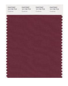 Amazon.com: PANTONE SMART 19-1726X Color Swatch Card, Cordovan: Home Improvement