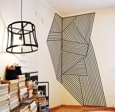 love you big: Inspirational wall pattern