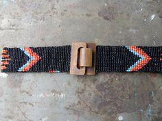Cole Mine Seed Bead Belt