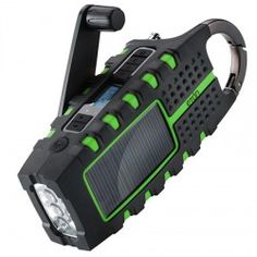 Solar Powered Radio & LED Flashlight