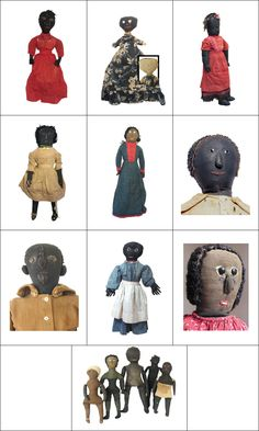 The Hatch Collection of Black Cloth Dolls - Store
