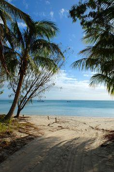 Tropical paradise on Great Keppel Island, Queensland, Australia