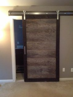 """""""We love our door we fabricated using Rustica Hardware! Thanks for the great customer service!"""" -Kristen J #barndoors #hardware"""