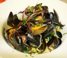 Moules mariner served today in our restaurant.