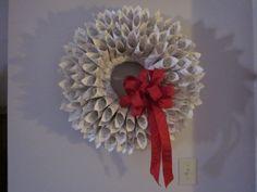 hymnal wreath