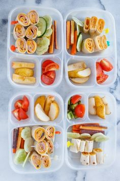 Healthy school lunch ideas |  packed in #EasyLunchboxes