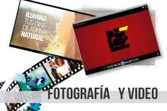 Fotografía y vídeo.