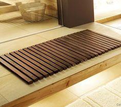 Mata drewniana KW Woody 50x80 Natur