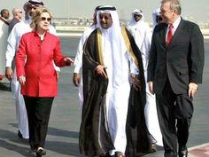#Qatar to #ClintonFoundation HAPPY BIRTHDAY Bill.Heres $1MLove, Qatar  Hillary in Qatar Maneesh BakshiAP