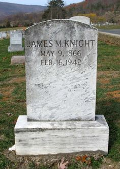 Tombstone Tuesday: The Knights #genealogy