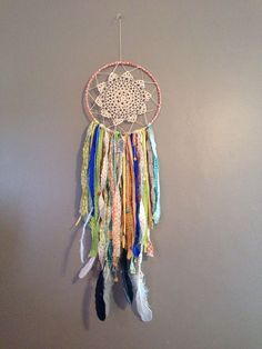 There are a ton of great scrapbusting tutorials out there, Check out ourScrap Busting pinterest boardfor some great ideas. But today, we have an adorable tutorial for how to use some beautiful and small scraps to make a perfect Dream Catcher.