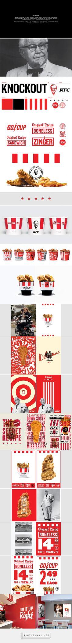 KFC Rebrand on Behance - created via https://pinthemall.net