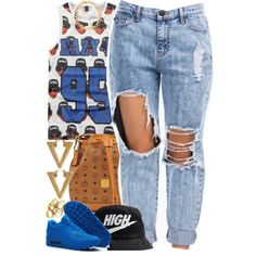A fashion look from September 2014 featuring NIKE shoes and MCM shoulder bags. Browse and shop related looks.