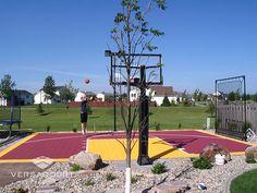 Backyard Basketball, Portable Basketball Hoop, Custom Basketball, Basketball Court, Indoor Outdoor, Sports, Backyard Ideas, Travel, Photos
