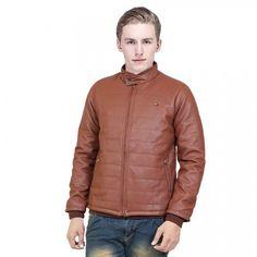 Branded surpluss Brown Leather Jacket